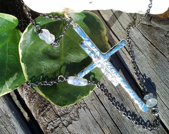 Almost Easter Cross Pendant