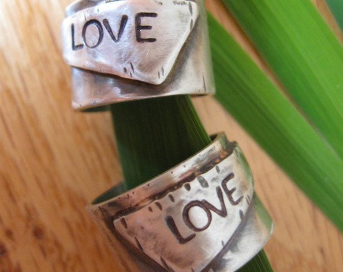 Sterling Silver Love Band