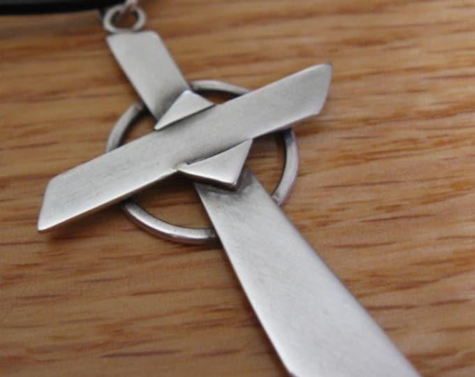 Sterling Clarity Cross