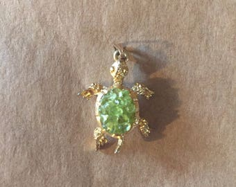 Vintage Turtle Pendant from 1980's in Perfect Condition