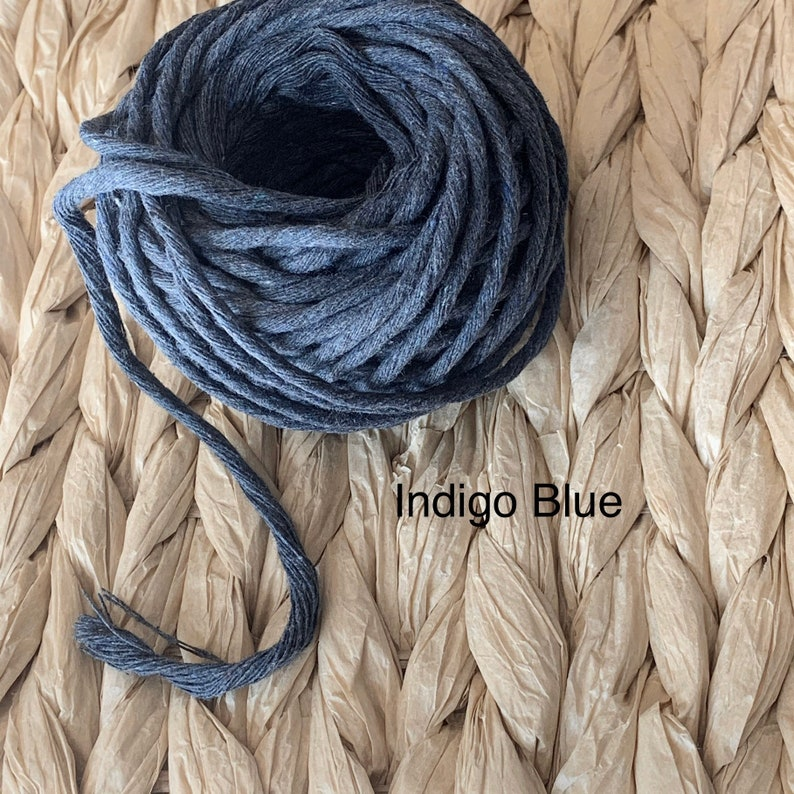 3mm Single Strand Macrame Cord \u2022\u202275 ft\u2022\u2022 length **14 colors