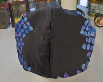 Handpainted Mask - Mermaid Scales