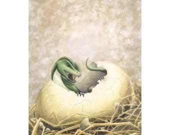 Dragon Hatchling - Print