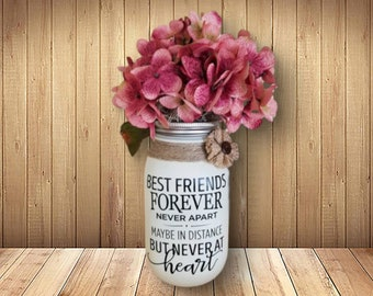 Female Friend Gifts Friendship Gift For Women Unique Quote Jar