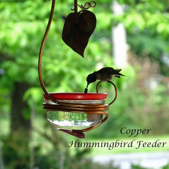 single port hummingbird feeder