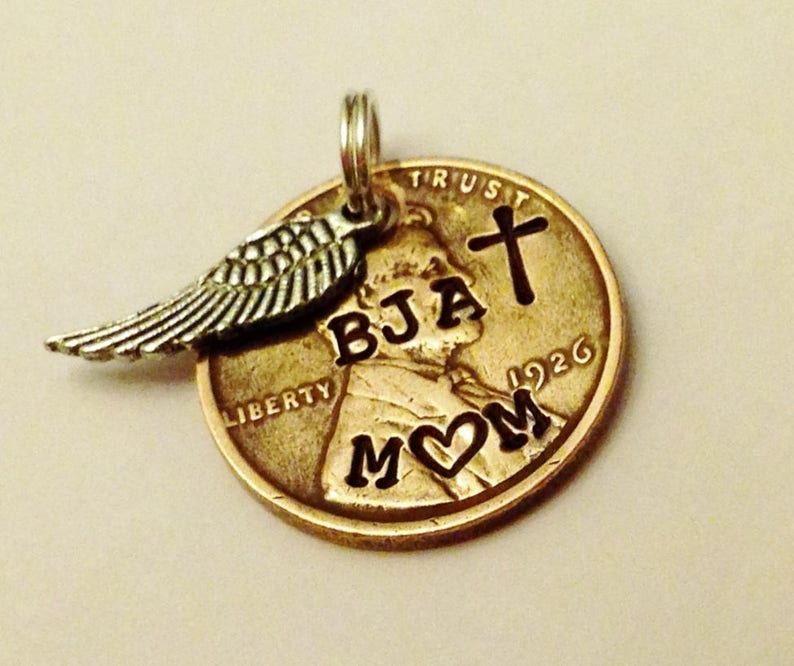 Memorial Gift Loss of Mother Jewelry Custom Mom Remembrance image 0