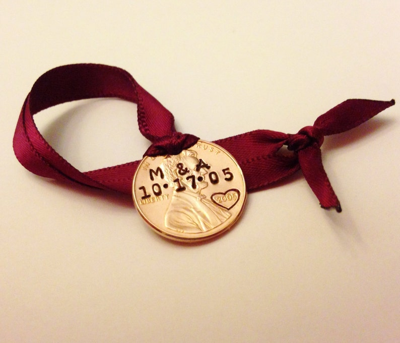 Personalized Wedding Ornament: Our 1st First Christmas image 0