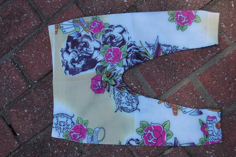 OR Black Turquoise Hot Pink Preschool Rocks Bling Vintage Wash Tie Fringe Border Cotton Jersey Dress