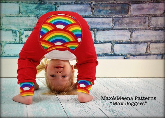 Max Joggers SEWING PATTERN PDF | Etsy