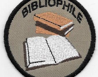 Bibliophile Geek Merit Badge Patch