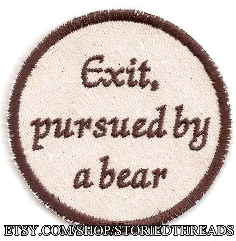 Shakespeare A Winter's Tale Exit pursued by a bear image 0