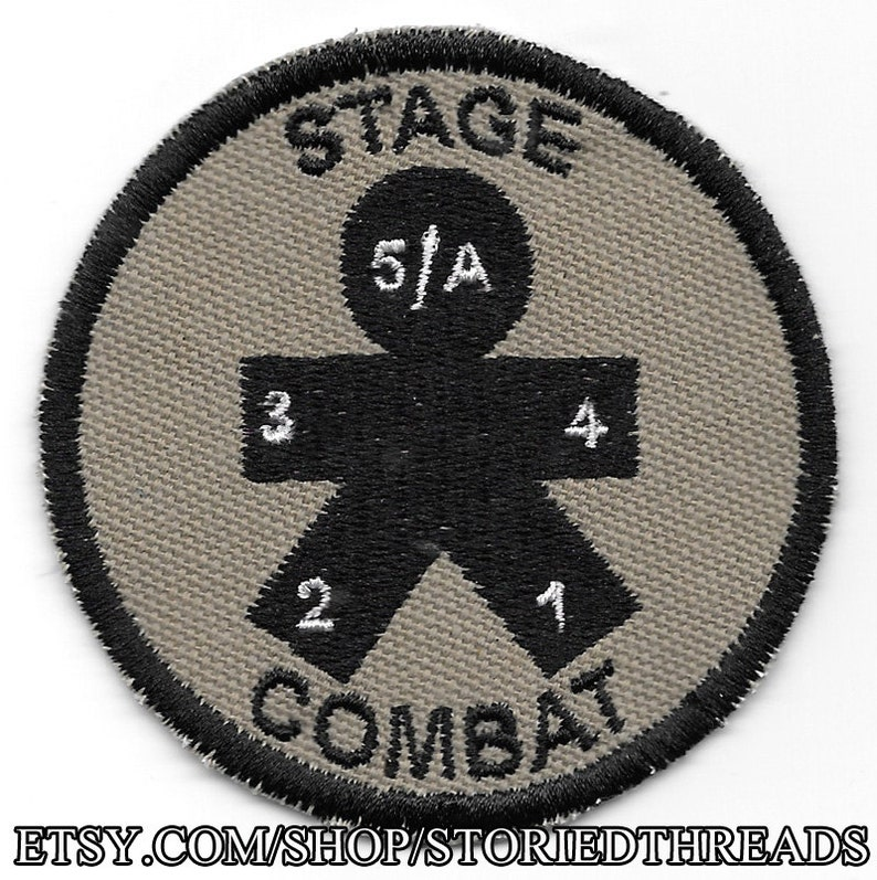 Stage Combat Geek Merit Badge Patch image 0
