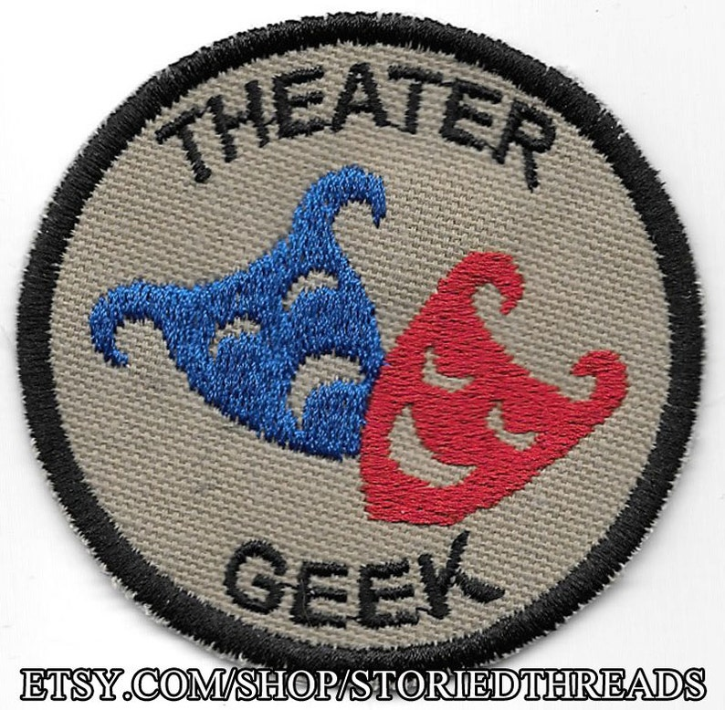 Theater Geek Merit Badge Patch image 0