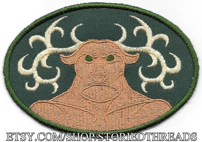 Cernunnos Celtic Horned God Patch image 0