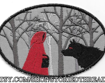 Little Red Riding Hood, Fairy Tale Patch