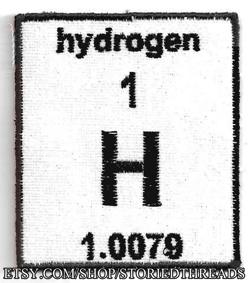 Periodic Table of Elements Patch  Choose Your Element image 0