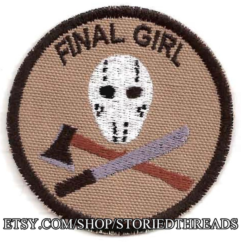 Final Girl Geek Merit Badge Patch image 0