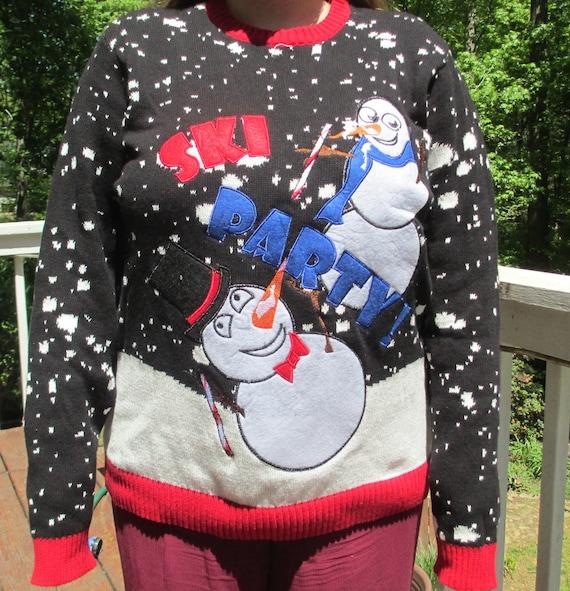 tacky christmas sweater, ugly christmas sweater, c