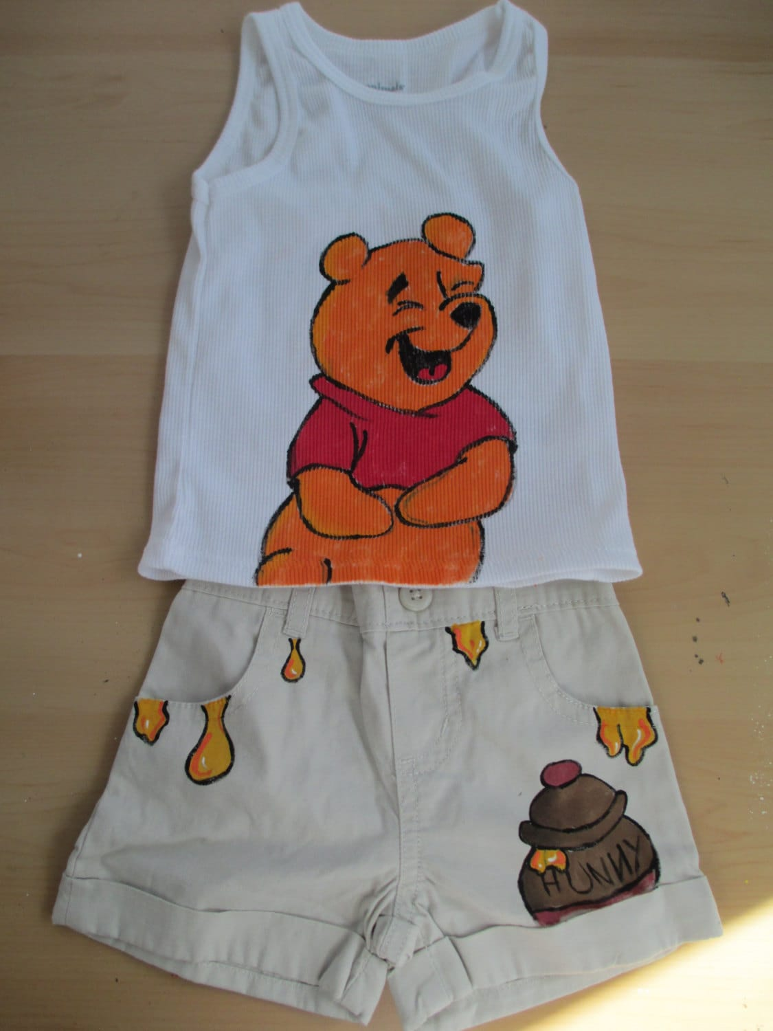 e15ebe9ef Winnie the pooh bear winnie the pooh childrens clothes baby   Etsy