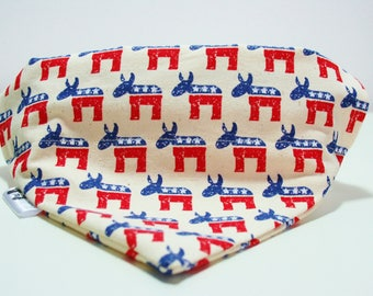 Stars and Stripes Cow Dog Bandana Cat Bandana Slip on Collar