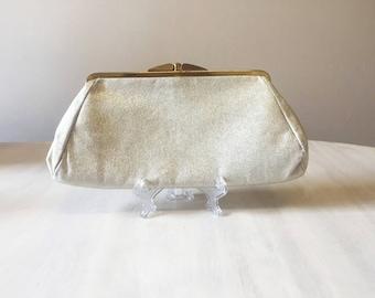 Vintage silver clutch, vintage clutch purse, silver purse, silver wedding purse, clutch bag, silver bag, wedding bag, vintage evening bag