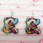 Discord My Little Pony Dangle Earrings