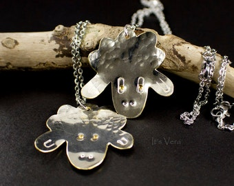 Sheep, sheep pendant, silver sheep, silver necklace, chain necklace, animal necklace, woolly necklace, buy a sheep, Easter, wool, knitting