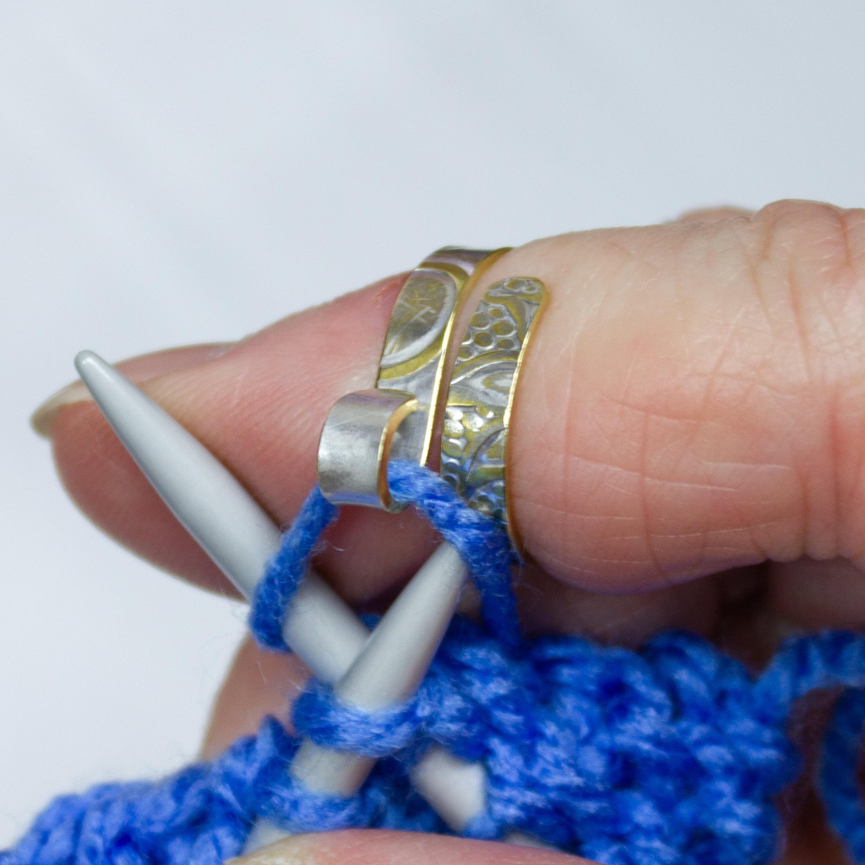 3pcs Vintage Knitting Loop Crochet Loop Knitting Accessories Yarn Knit Ring