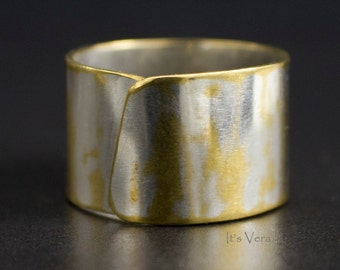 Band ring, brass ring, promise ring, eco-friendly ring, re-purposed metal, rings, handmade ring, ItsVera, trendy ring, jewelry, accessories
