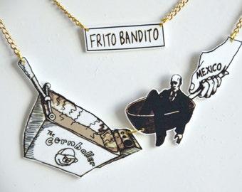 Arrested Development - 'Frito Bandito' Necklace