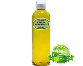 12 oz Jojoba oil 100% Pure Organic Unrefined Golden Cold Pressed Virgin