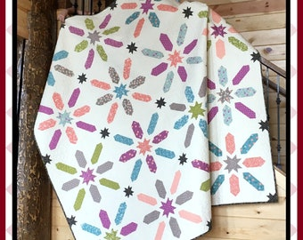 Wishes - PDF Quilt Pattern with 5 size options
