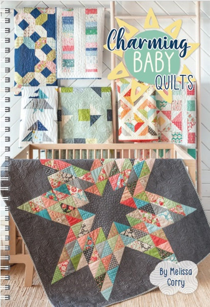 Charming Baby Quilts by Melissa Corry  Signed Copy image 0