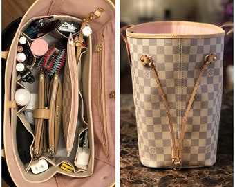 69260def7363 fits Louis Vuitton Neverfull GM   Purse Organizer Shaper   14.5 x 7 x 7H    You Choose the Color   Stiff wipe-clean bottom   flexible ends