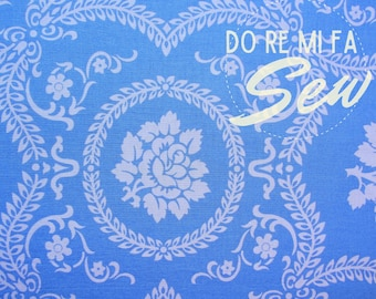 Casey Scroll - Jennifer Paganelli - Sis Boom - remnant - quilting fabric - apparel fabric - 100% cotton fabric - fabric for masks