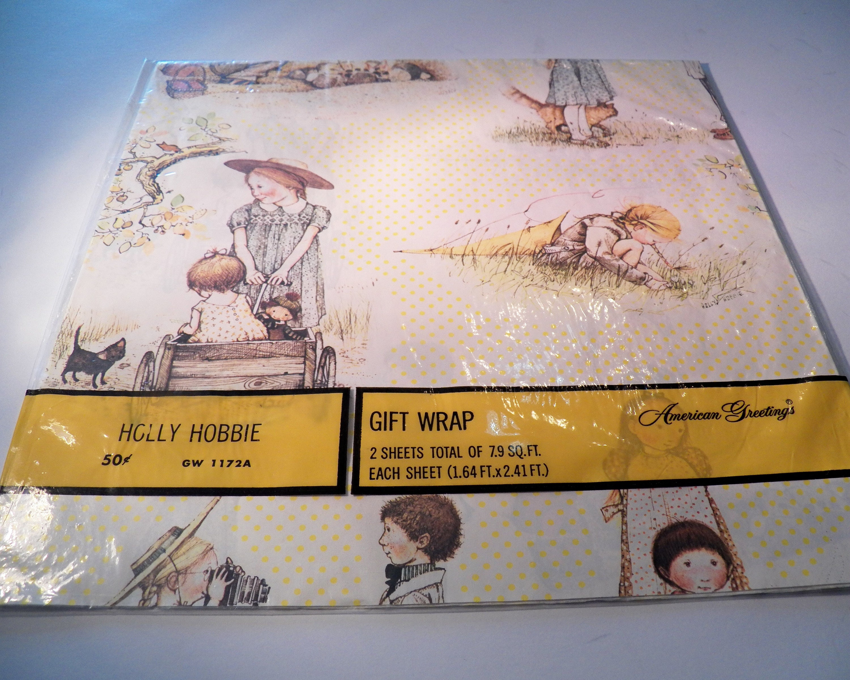Jahrgang Holly Hobbie Geschenkpapier Vintage Verpackung