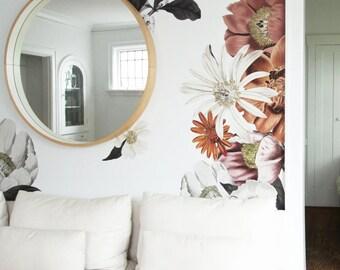 Full Order***Vinyl Wall Sticker Decals - Eden Floral Wall Decals