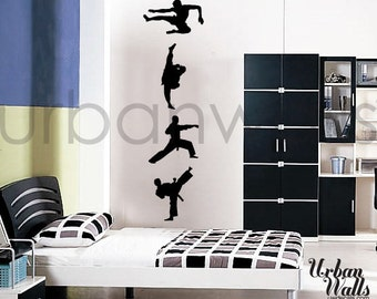 Vinyl Wall Sticker Decal Art - Karate Kid