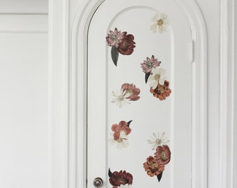 Vinyl Wall Sticker Decal Art - Mini Eden Flowers Decals