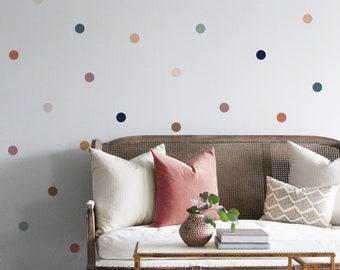 Vinyl Wall Sticker Decal Art - Desert Dots 3 inches wide