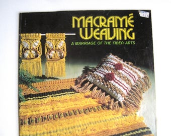 Macrame Weaving Instruction Book