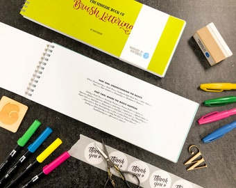 The Unique Book of Brush Lettering