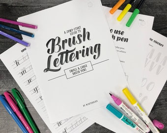 Beginners Guide to Brush Lettering