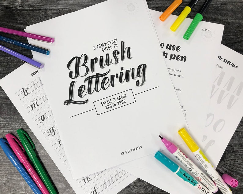 Beginners Guide to Brush Lettering image 0