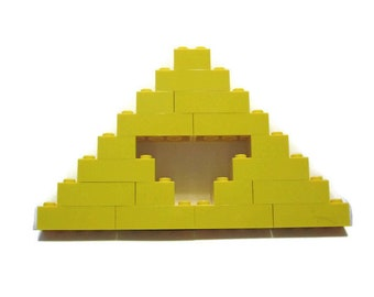 LEGO Triforce from The Legend of Zelda