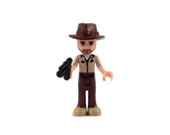 Custom LEGO Friends The Walking Dead Rick Grimes Minifigure