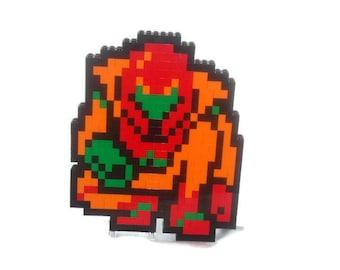 Lego Samus Aran from Metroid