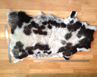 ON SALE Beautiful Soft Larger Jacob Sheep hide