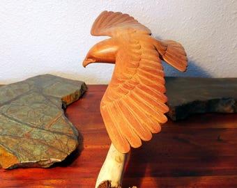 Bird Folk Art Carving