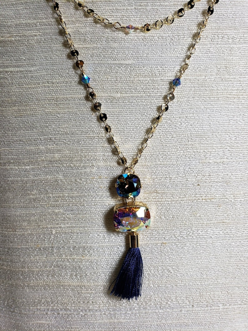 Holiday Shimmer Necklace